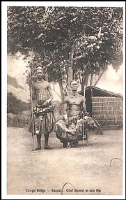 Chief Dombi (Ndombe) and his son